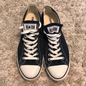 All star navy blue men's converse
